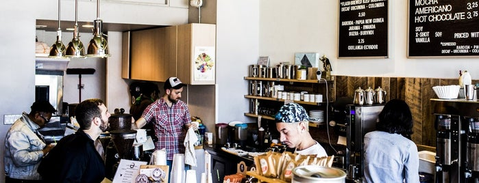 Peregrine Espresso is one of Bon Appetit City Guide to D.C..