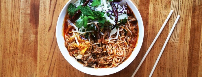 Thip Khao is one of Bon Appetit City Guide to D.C..
