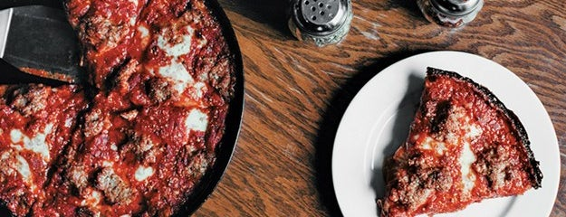 Pequod's Pizzeria is one of Bon Appétit City Guide to Chicago.