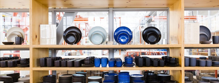 Heath Ceramics is one of Bon Appétit City Guide to San Francisco.