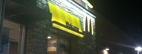 McDonald's is one of Restaurants I've Eaten At.