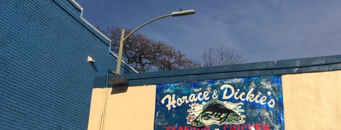 Horace & Dickie's Seafood is one of Best Places DC/Metro Area Part 1.