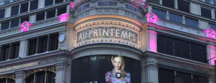 Printemps Haussmann is one of Must-Visit ... Paris.
