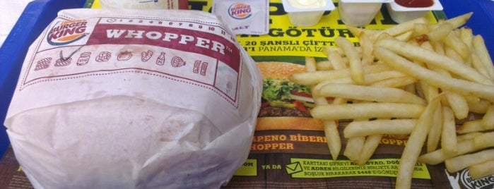Burger King is one of Tempat yang Disukai Yusuf Metin.
