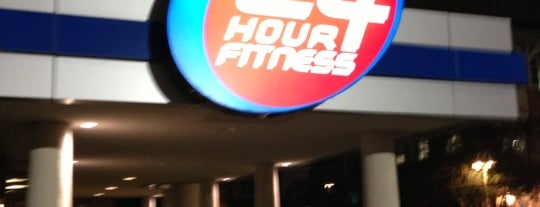 24 Hour Fitness is one of Posti che sono piaciuti a Tania.