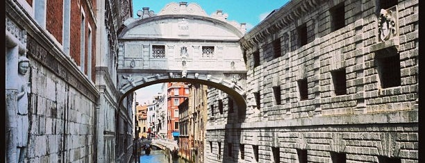 Ponte dei Sospiri is one of Venedig.