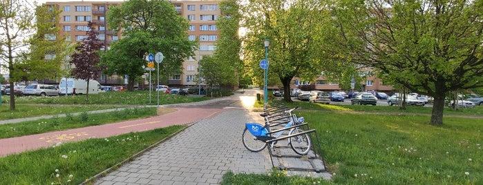 Cyklostojan Křižovatka u pivovaru is one of Cyklostojany Ostrava.