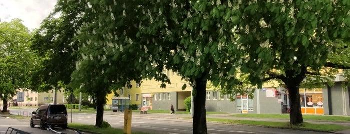 Cyklostojan Dům energetiky is one of Cyklostojany Ostrava.