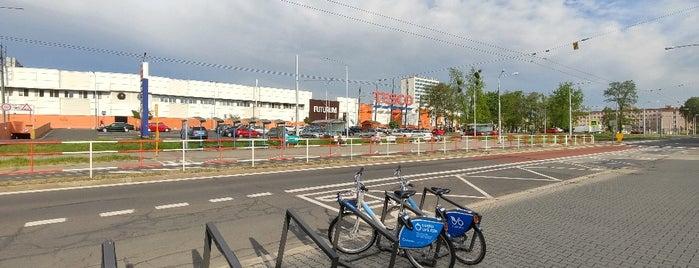 Cyklostojan Zastávka Futurum is one of Cyklostojany Ostrava.