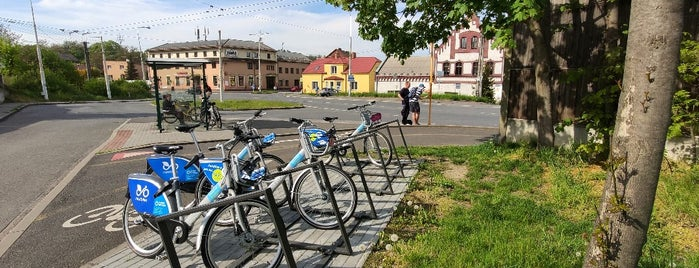 Cyklostojan točna Koblov is one of Cyklostojany Ostrava.