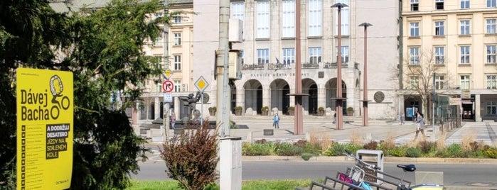 Cyklostojan Prokešovo náměstí is one of Cyklostojany Ostrava.