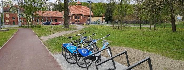 Cyklostojan U Vodárny is one of Cyklostojany Ostrava.