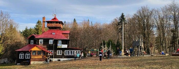 Chata Prašivá is one of Turistické chaty SK, CZ, PL.