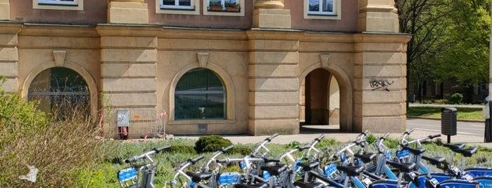 Cyklostojan Hlavní třída - horní část is one of Cyklostojany Ostrava.