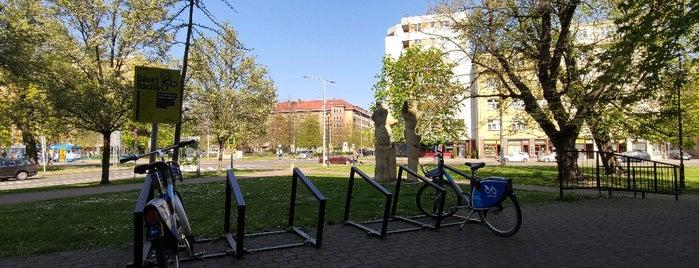 Cyklostojan Úřad práce is one of Cyklostojany Ostrava.