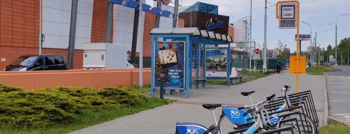 Cyklostojan Dům vodohospodářů is one of Cyklostojany Ostrava.