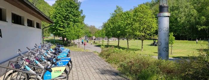 Cyklostojan Landek is one of Cyklostojany Ostrava.