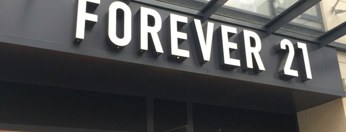 Forever 21 is one of Paris.