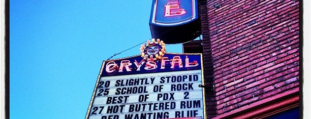 Crystal Ballroom is one of Portland Faves.