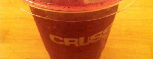 Crussh is one of London - Food.