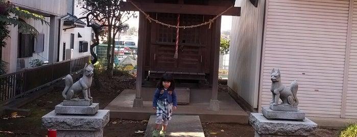 宿氷川神社(上ノ氷川神社) is one of 東上線方面.