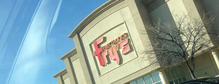 Fry's Electronics is one of * Gr8 Dallas Shopping (non-grocery).