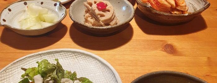사각하늘 is one of 가본 식당.