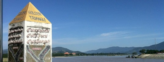 The Golden Triangle is one of Places in and near Chiang Mai.