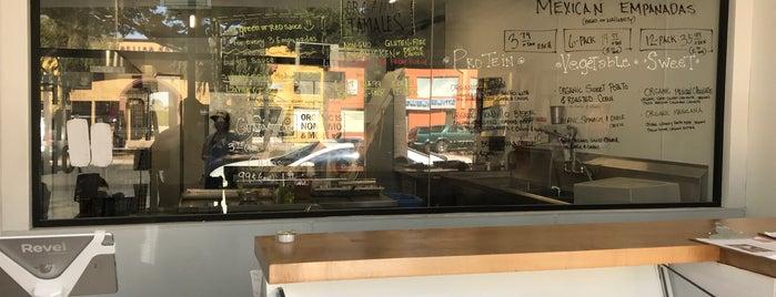 The Empanada Shop is one of Organic LA.