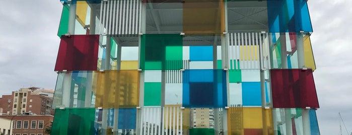 Centre Pompidou Málaga is one of Stevenson's Favorite Art Museums.