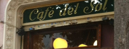 Café del Sol is one of Tapas.