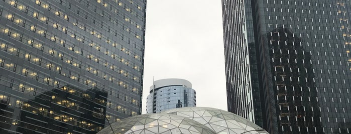 Amazon - The Spheres is one of Seattle.