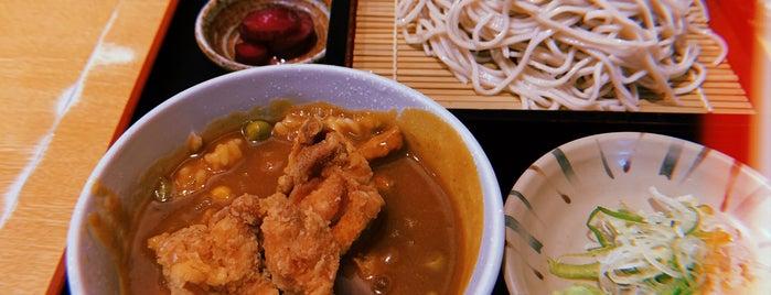 そば処 五六八そば 浜松町店 is one of Tempat yang Disukai まるめん@下級底辺SOCIO.