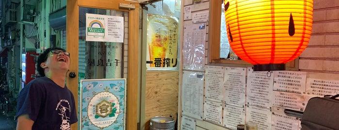 立呑み 千吉良屋 is one of TOKYO-TOYO-CURRY 4.