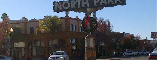 North Park Sign is one of San Diego.
