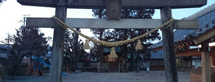 市神神社 is one of 近江 琵琶湖 若狭.
