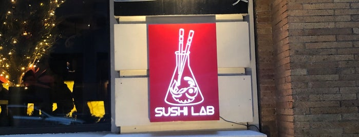 Sushi Lab is one of The Black Notebook.