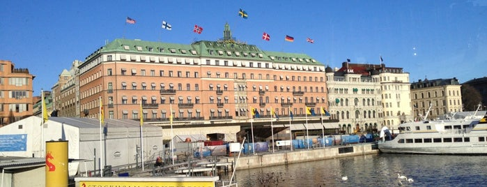 Sheraton Stockholm Hotel is one of Posti che sono piaciuti a 4sq SUs Sweden.