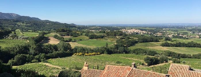 Séguret is one of Les plus beaux villages de France.