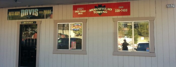 Arrowhead Towing is one of Amyさんのお気に入りスポット.