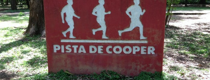 Pista de Cooper is one of Cuidando da Saude.