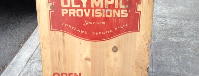 Olympia Provisions NW is one of Portland.