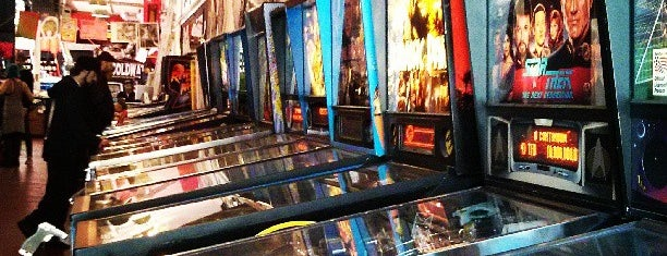Free Gold Watch is one of Pinball Destinations.