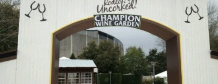 The Wine Garden @ Rodeo Houston is one of Orte, die Patsy gefallen.