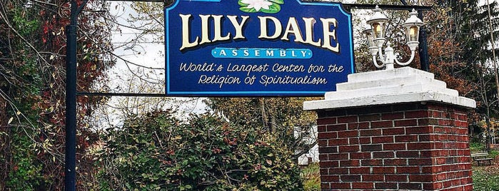 Lily Dale Assembly is one of Western, NY.