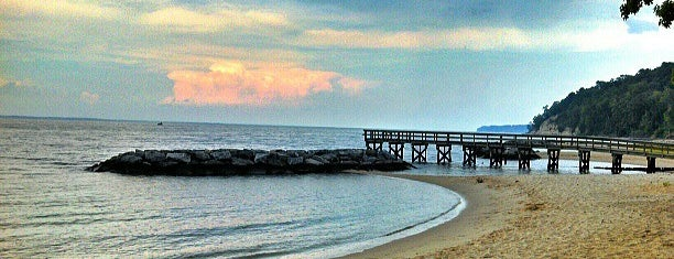 Westmoreland State Park is one of Beaches (VA).