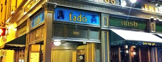 Fado Irish Pub is one of Chicago Grouper venues.