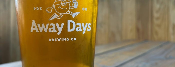 Away Days Brewing is one of Portland A-F.