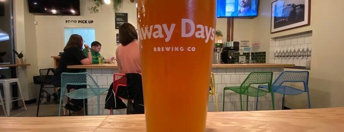 Away Days Brewing is one of Lugares favoritos de Noland.
