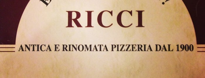 Ricci is one of pizzacılar.